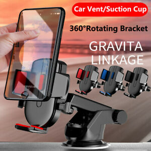 Gravity Stand Sucker Car Holder Air Vent Mount For GPS Universal Cell Phone