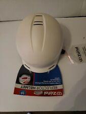 Zefal Relector Helmet White New 5122 Size Large L 57-59 cm Bike Road Safety Gear