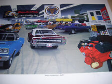 David Snyder Where Horsepower is Made Mr. Norm Grand Spaulding Dodge Hemi-6 Pack