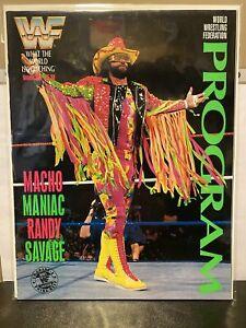 WWF Live Event Program Magazine Vol. 206 - Macho Man Randy Savage