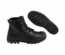 Palladium Pampa Hi Leather Black Schuhe/sneaker schwarz Leder
