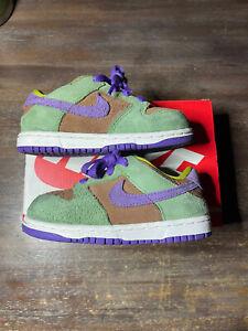 Nike Dunk Low SP Toddler DC8315-200 Veneer TD Size 8c Ugly Duckling