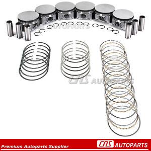 For Dodge Chrysler 2.7L 167 2700 Charger Magnum 300 Piston & Ring Set @STD Size