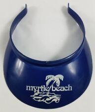 Myrtle Beach South Carolina Beach Sun Visor Sports Cap Golf Tennis Summer vtg