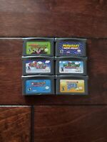 Nintendo Gameboy GBA Super Mario Advance 1 2 3 4 Superstar Saga Mario kart Repro