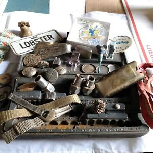 Junk Drawer Lot Watch Parts Green Stamps And More