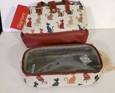 Cheeky Cat Big Maquillage Sac par SIGNARE des cosmétiques, produits de toilette Travel & Accessoire Sac