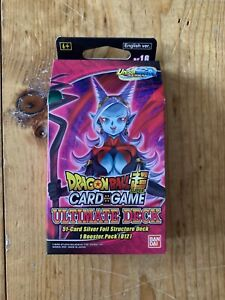 Dragon Ball Super Card Game Ultimate Deck - Expansion Set 16 - DBS-BE16