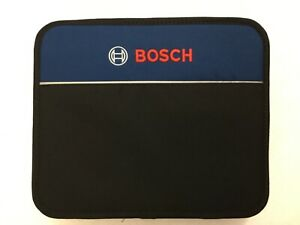 "New Bosch 12"" x 10""  x 4"" Contractors Tool Bag with Inside Pocket"