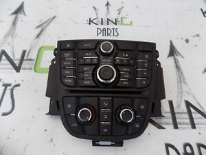 VAUXHALL ASTRA J MK6 2009-2014 CONTROL PANEL RADIO CD AUX NAVI 600 A/C CLIMA