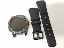 Samsung Galaxy Gear S3 frontier Stainless Gray band verizon gsm unlocked used