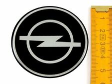 OPEL ★ 4 Stück ★ SILIKON Ø55mm Aufkleber Emblem Felgenaufkleber Radkappen