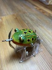 Vintage Fishing Lure Kent Style Folk Art Frog Unknown Maker Nice Bait
