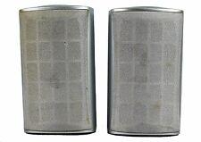 Saba Speaker Front Rear 31-5023 15 Watt Stereo Surround Home Bookshelf Gray