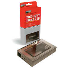 Multi-Catch Mouse Trap Humane Effective Safe No Poisons or Chemicals PSPMMT