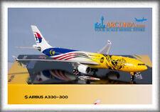 "Phoenix 1:400 Malaysia Airlines Airbus a330-300 ""Harimau Malaya - 9M-MTG"" 4361"