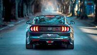 "Ford Mustang Bullitt 2019 Car Auto Silk Cloth Art Poster Print 24x36"""