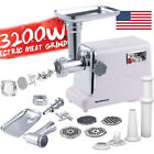 3200W Heavy Duty Electric Meat Grinder Home Appliances Sausage Stuffer Mincer photo