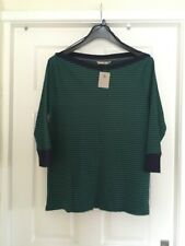 TU Green & Blue Stripped Top Size 20 New With Tags