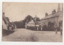 High Street Ellington Huntingdonshire Vintage Postcard 685b