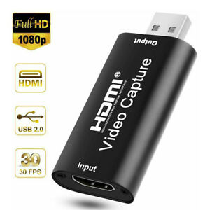 1080P HD Recorder HDMI to USB Video Capture Card For Game Live Streaming