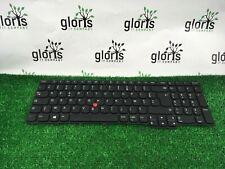 Genuine Lenovo ThinkPad L570 Keyboard backlit FRENCH AZERTY 01AX621