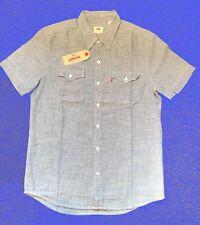"Levis mens Short Sleeve Western Shirt  - Medium 42"" Chest"