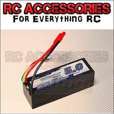 5000mAh LiPo Battery 4S 14.8V 20C 30C Hardcase Pack HPI,TRAXXAS,TAMIYA UK !