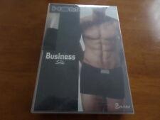 HOM BUSINESS SILK 44 MAXI - MENS BOXER SHORT- BLACK COMBINATION- SIZE 30 -