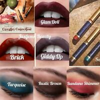 💋SeneGence LipSense ShadowSense Cowgirl Collection: Brick, Glam Doll, Giddy Up!
