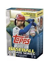 2020 Topps Baseball Update Series Factory Sealed Blaster Box with exclusive Coin