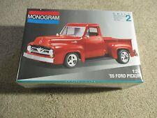 Monogram '55 1955 Ford Pickup 1:24 Scale Model Kit 1994 Sealed Misb