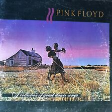 """PINK FLOYD """"collection of great dance songs"""", 1975 album 33rpm vinyl LP record"""