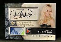 2011 In The Game Canadiana Autograph Memorabilia #AMPA3 Pamela Anderson