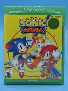 Sonic Mania (Microsoft Xbox One, 2018) BRAND NEW SEALED