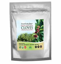 Organic Cloves Whole 8 oz Fair Trade in Mylar Bag w/ E-Book of Secrets of Cloves