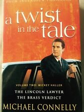 Michael Connelly A Twist in the tale Volume 2. The Lincoln Lawyer Free Delivery