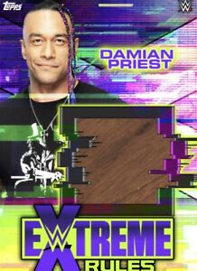Topps WWE Slam [DIGITAL] Extreme Rules - Table Relic - Damian Priest