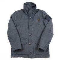 Vintage BLAUER USA Quilted Waterproof Jacket   Men's M   Rain Padded Retro