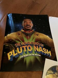 Adventures Of Pluto Nash press kit w/ Photo Disc + Press Book EDDIE MURPHY