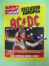 rivista CIAO 2001 36/1984 POSTER Boy George AC/DC Pino Daniele Madonna   No cd