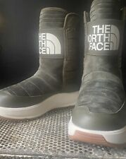 The North Face Ozone Park Pull On Waterproof Suede/Leather Winter Boots New 7.5