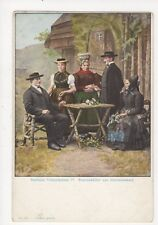 Badische Volkstrachten Simonswaelder aus Altsimonswald U/B Postcard Germany 395a
