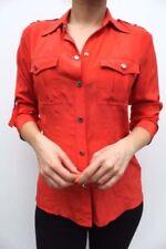 Maglie e camicie da donna manica lunghi seta , Taglia 42