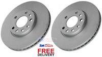 FOR VAUXHALL VECTRA C 1.8 1.9 CDTi 2.0 (2002-2009) FRONT BRAKE DISCS SET NEW