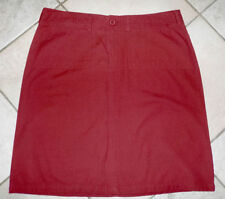 Straight, Pencil Machine Washable Solid 100% Cotton Skirts for Women