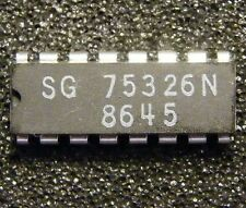 5x SG75326N quad positive-OR sink driver, Silicon General