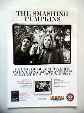 """PUBLICITE-ADVERTISING :  THE SMASHING PUMPKINS  12/2001 pour """"Rotten Apples"""""""