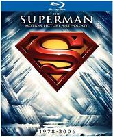 Superman: The Motion Picture Anthology 1978-2006  Blu-Ray Box Set 8 Disc Set DC