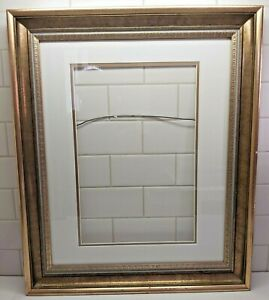 16X20 Vintage Wood Ornate Baroque Gold with Hints of Red Picture Frame